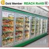 Porte en verre multi pour le refroidisseur d'affichage de supermarché