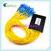 PLC Splitter 1X64 de FTTH Fiber Optical com 2mm Pigtail (B2)