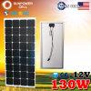 Фабрика сразу 12V 130W панель солнечных батарей 130 ватт Monocrystalline Mono