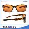 Gafas de sol polarizadas plástico en línea comprable de la manera del espejo