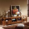 Stand chinois de l'antiquité en bois TV de meubles/stand à haute brillance de TV