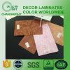 Laminado de alta presión/material de construcción laminados/del acuerdo decorativos