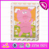 2015 новое Design 3D Puzzle Wooden Toy для Kids, Safety Materials Wooden Puzzles Game, Wooden Puzzle Set Toy для Children W14c198