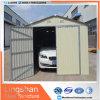De zilveren Witte Modulaire Uitrustingen van de Garages van het Staal met de Kleur Met een laag bedekte Muur van het Staal