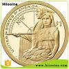 Изготовление индийских старых монеток отсутствие сбывание монеток MOQ индийское старое и изготовленный на заказ дешевые изготовленный на заказ монетки знака внимания