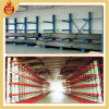 Cremalheiras industriais do armazenamento do armazém dobro/única cremalheira Cantilever lateral