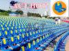 La gimnasia del asiento de los deportes del fútbol equipa las sillas del blanqueador plásticas