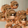 Replik Tom Dixon Copper Shade und Mirror Ball Glass Pendant Lamp