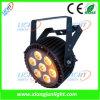 7PCS diodo emissor de luz Light do diodo emissor de luz Full Color PAR Light