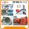 Câmara de ar concreta da tubulação que faz a maquinaria/tubulação concreta que faz a máquina