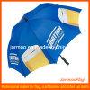 Customed a fait le parapluie de publicité en aluminium
