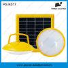 Светильник UFO крытой напольной зеленой энергии солнечный с передвижной поручать