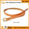 The Femaleのための卸し売りFashion Slimsy Leather Belt