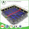 Beautiful Trampoline Safety Pad를 가진 Trampoline Park