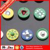 Marcas de fábrica globales buen botón del remache del Rhinestone del precio de 10 años