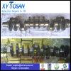 Albero a gomito d'acciaio forgiato per le aste cilindriche del motore di Dongfeng 6L HOWO Wd615
