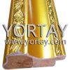 Pigmento de madera de la pintura del marco de la foto del oro