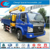 MiniCrane Truck Light Capacity Cargo Truck mit Crane Hot Sale Truck China Truck Crane