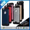 iPhone 6 PlusのためのアルミニウムChrome Steel Slim Hard Case