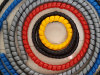 Protectores espirales de la manguera de los PP del plástico