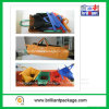 хозяйственная сумка 90GSM Four Color Nonwoven Folding Carry Trolley