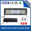 Plano 96W convexe conjuguent barre d'éclairage LED de CREE de rangée