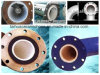 Hohe Leistungsfähigkeit, die keramisches Leitungsrohr Tragen-Widersteht