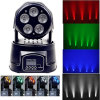 Preiswerte LED 5PCS*18W 6in1 Moving Head Wash Light