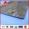 Mosaico autoadesivo do ACP do metal da decoração interior