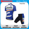 SportswearのWomen Cyclingジャージーの上の方法Comfortable Zip