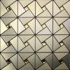 El oro ligero de Whosale embaldosa el mosaico compuesto de aluminio