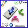 Le double chaud de vente a dégrossi le stand de surgeon de silicone de téléphone portable (DXJ-90703)