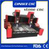 CNC機械を切り分ける頑丈な大理石の石造りの彫版
