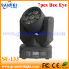 7PCS Bee Eyes LED Moving Head Light