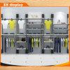 Estante del estante de exhibición de madera y del metal para Clothes&Shoes (ZS-801)