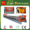 Горяче в России Colored Steel Tile Roll Forming Machine