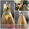 Vestido de partido/vestido casamento de Organza (D-623)