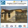 Casa prefabricada modular de la estructura de acero del color