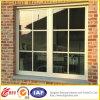 Finestra di alluminio munita di cardini bello doppio lato/finestra di alluminio