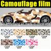 Garanzia 100% 1.52X30m Vinyl Car Body Sticker Design Camouflage Film