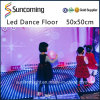 Le DJ allumant la disco brillante mince LED Dance Floor de couleur