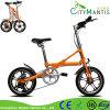 Aluminiumlegierung-faltendes Fahrrad-mini bewegliches Pocket Fahrrad