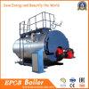 Limpar a máquina da caldeira caldeira de gás Diesel do vapor do petróleo de 1 tonelada