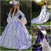 R-021 19 Kleding Halloween van de Renaissance van de Oorlog van het Kostuum 1860s van de Eeuw kleedt de Uitstekende Victoriaanse Lolita/Civil Al Grootte