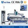 Máquina del CNC para ranurador del CNC de madera del grabado 3D y del corte