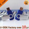 Azionamento caldo dell'istantaneo del USB della parte girevole di marchio del laser di abitudine (YT-1201)