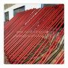 塗られた足場の調節可能な鋼鉄支柱