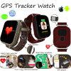 Montre colorée de traqueur du moniteur du rythme cardiaque GPS d'écran tactile (D28)