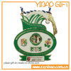 Qualitäts-2D herausgeschnittene Zink-Legierungs-Medaille (YB-LY-C-07)