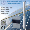 водяная помпа полива 416L 6in солнечная приведенная в действие